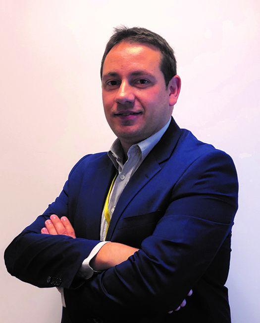 Foto de Rubén Gavela, Director General de DHL Freight España