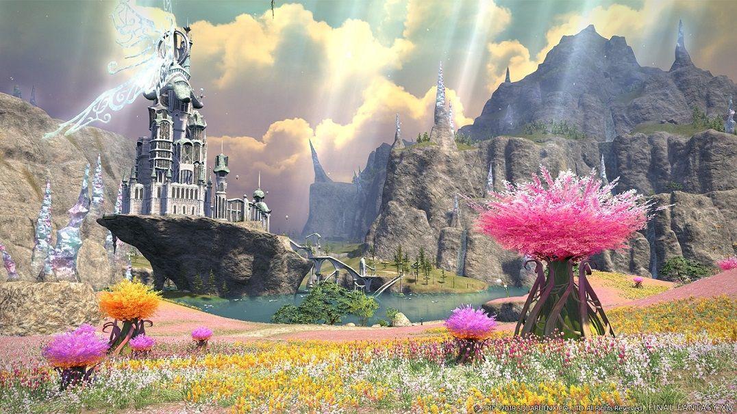 Fotografia Final Fantasy XIV: Shadowbringers, con nuevos escenarios