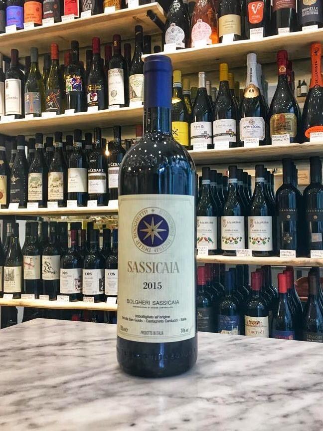 El vino Sassicaia 2015 a la venta en Casabase