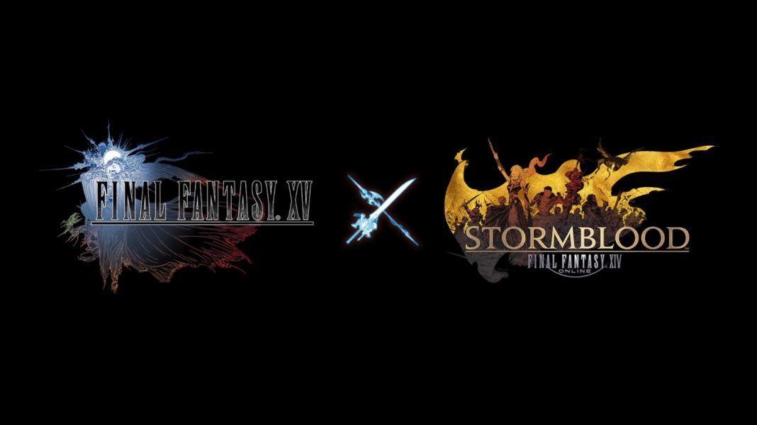 Fotografia Final Fantasy XIV crossover con Final Fantasy XV