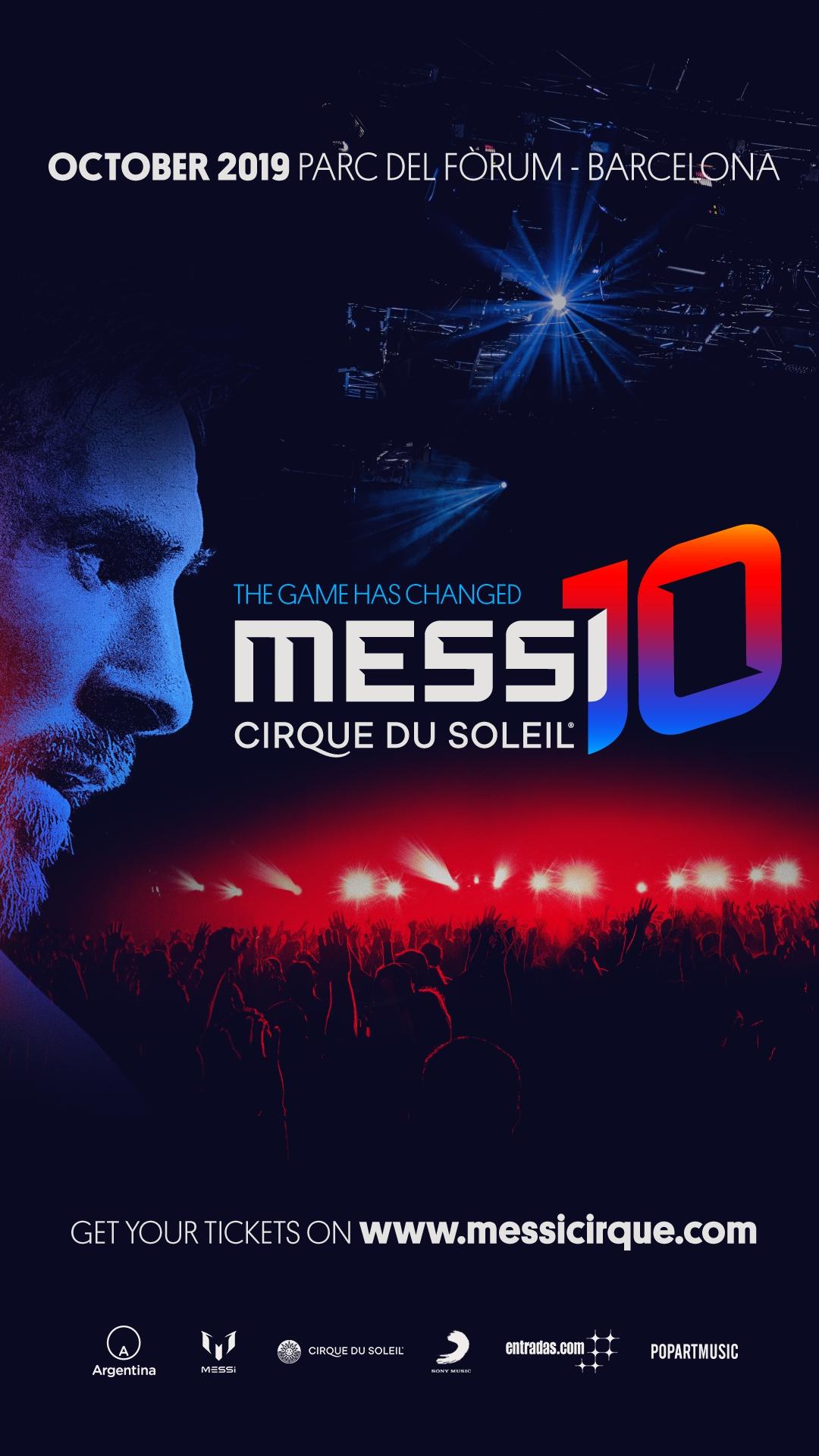 Fotografia Messi Cirque Du Soleil