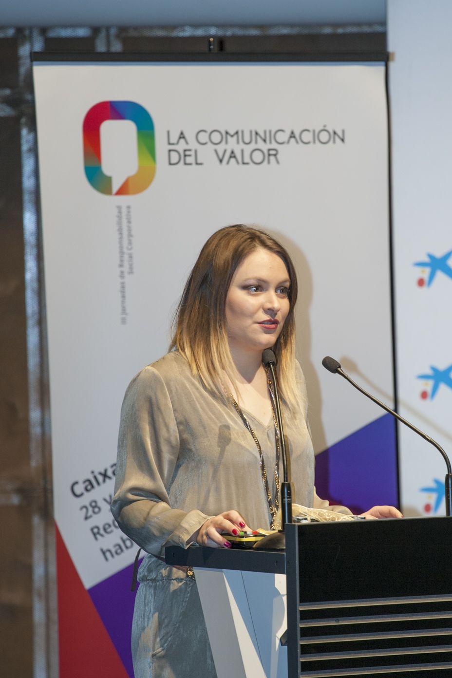 Fotografia Ponencia de Elena Martín Guerra - COO – Directora de