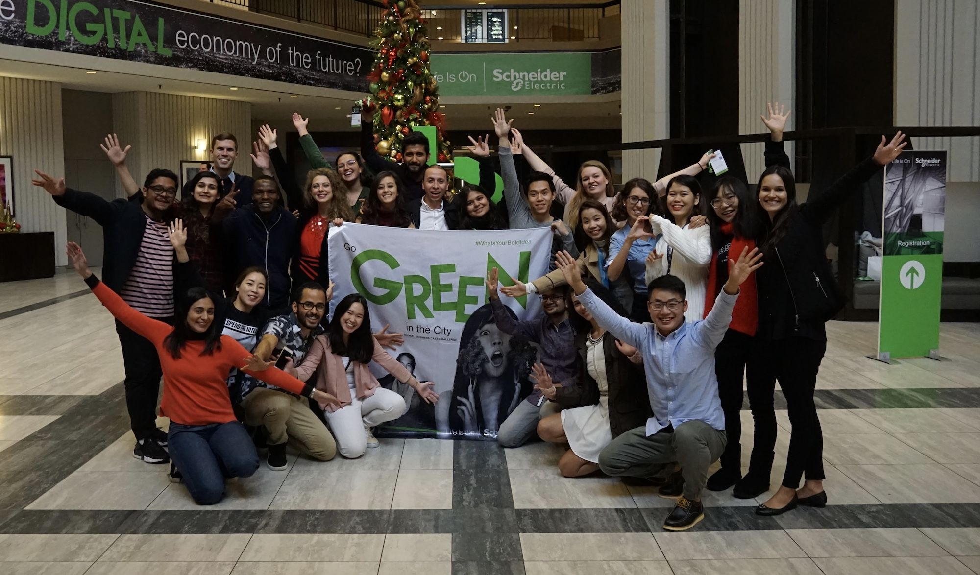 Fotografia Los finalistas de Go Green in the City 2018 en el
