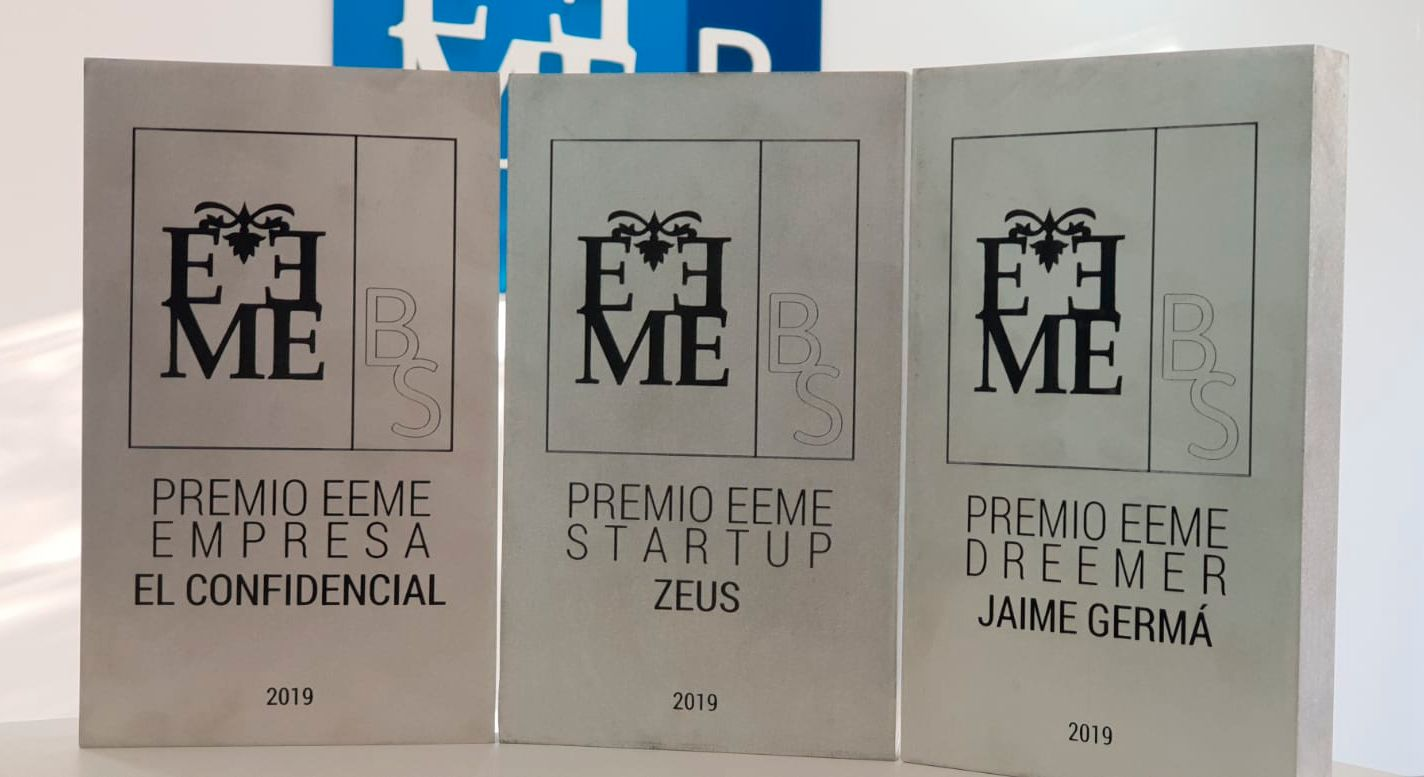 El Confidencial y ZEUS Smart Visual Data, Premios EEME 2019