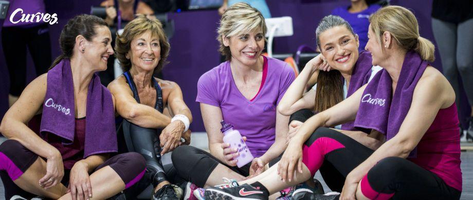 Fotografia Promoción de enero para gimnasios Curves
