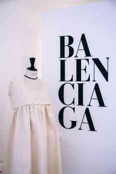 Una de las creaciones de los alumnos de Moda de IED Madrid inspiradas por el maestro Balenciaga