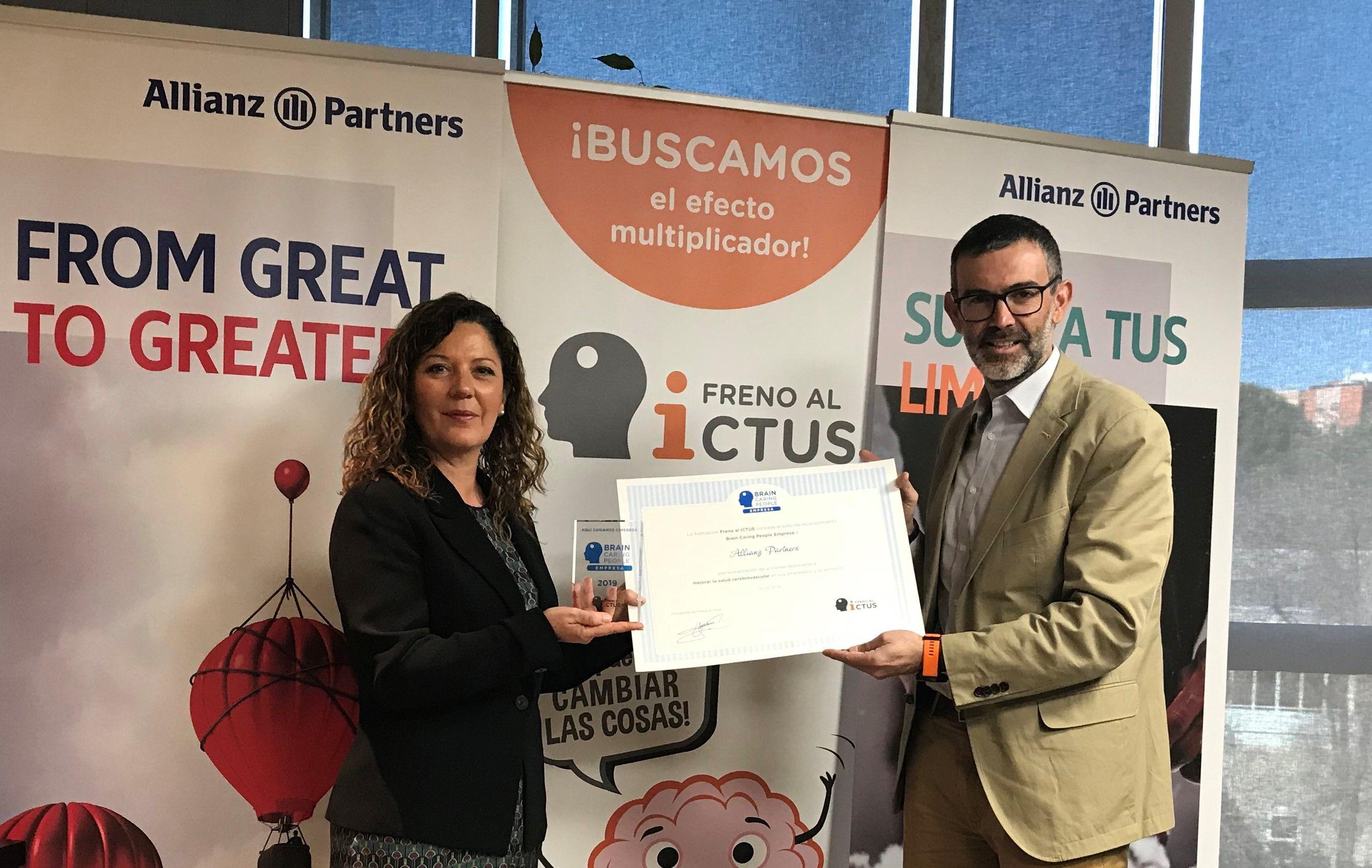 Foto de Allianz Partners recibe el reconocimiento Brain Caring People
