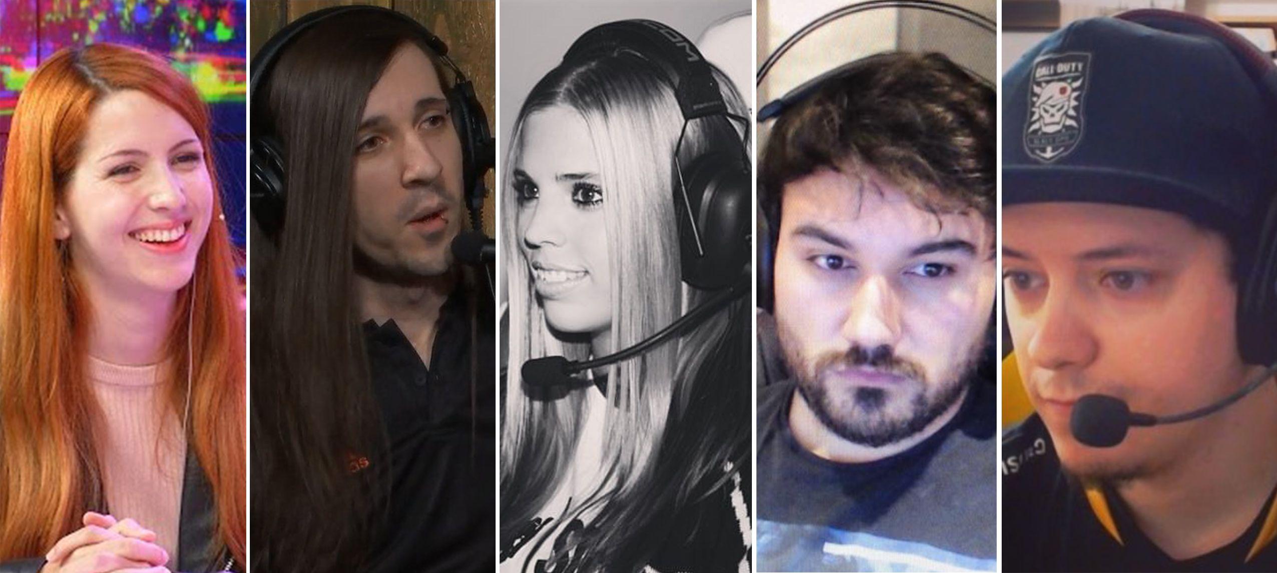 Foto de Diferentes personalidades del mundo del videojuego se han