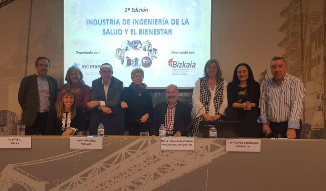 Foto de Participantes en la presentación del curso Industria de