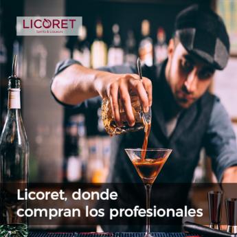 Nace Licoret, la nueva tienda online de licores con precios para profesionales