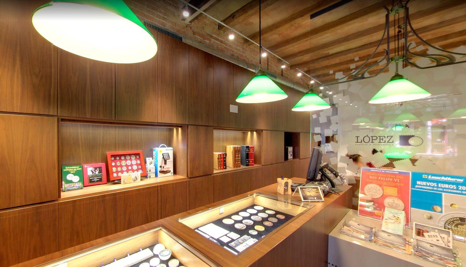 Foto de Tienda de numismatica y filatelia López