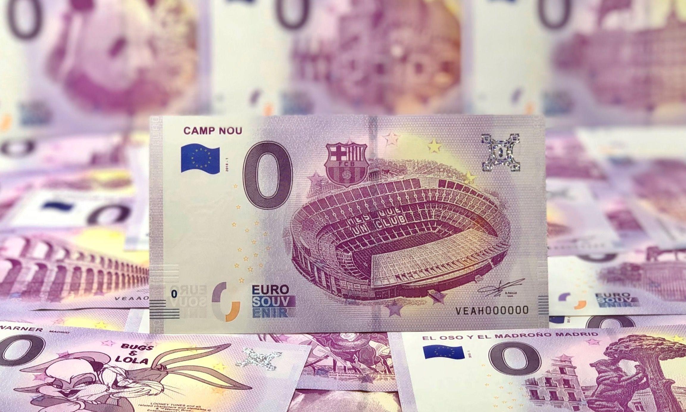 Foto de campnou_billetes0euros_eurosouvenir