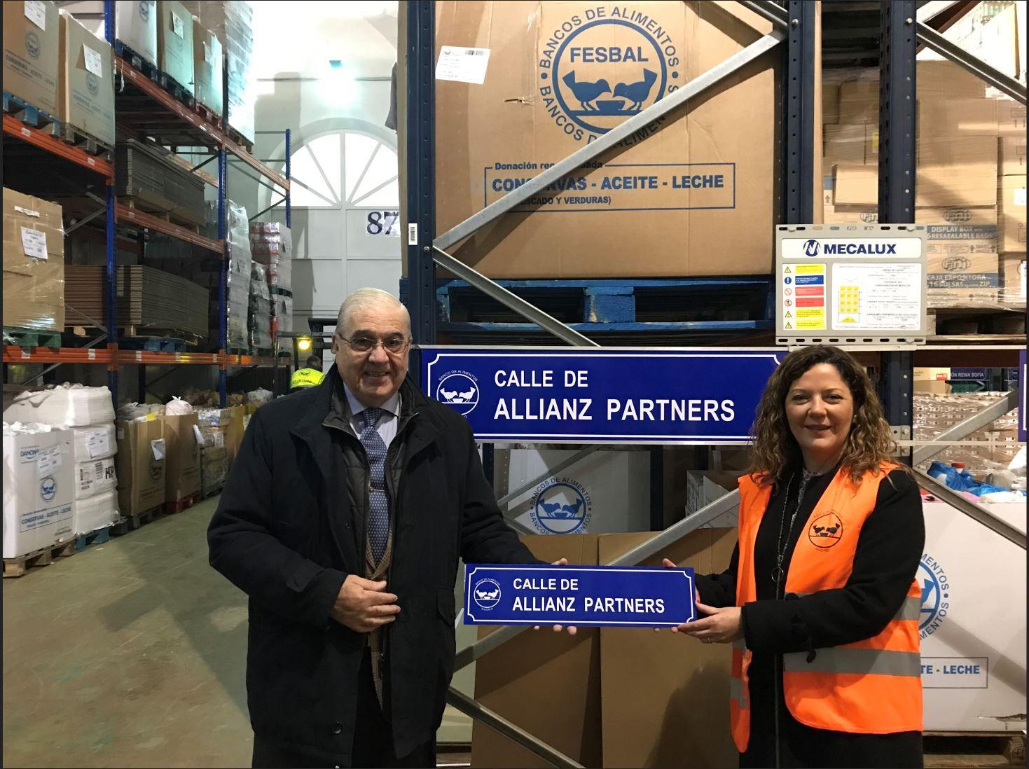 El Banco de Alimentos de Madrid reconoce la labor de Allianz Partners en la asistencia de las personas