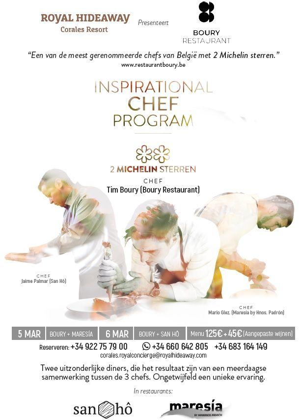 Foto de II edición del Inspirational Chef Program