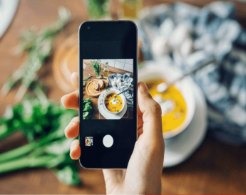 Foto de Cocina y recetas en redes sociales