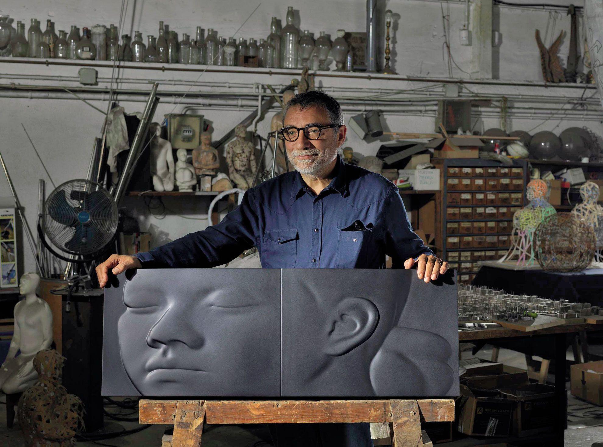 ARTIKA presenta 61, un libro de artista que abre las puertas al proceso de creación de Jaume Plensa