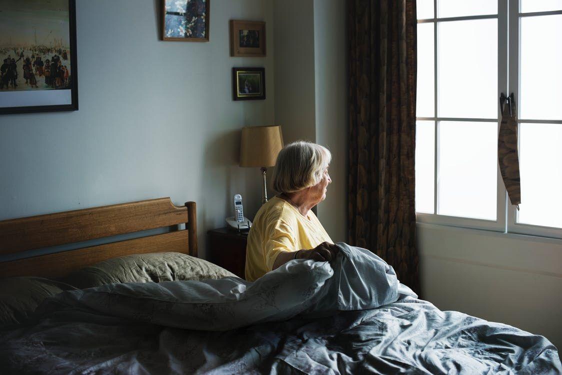 Foto de Depresión personas mayores