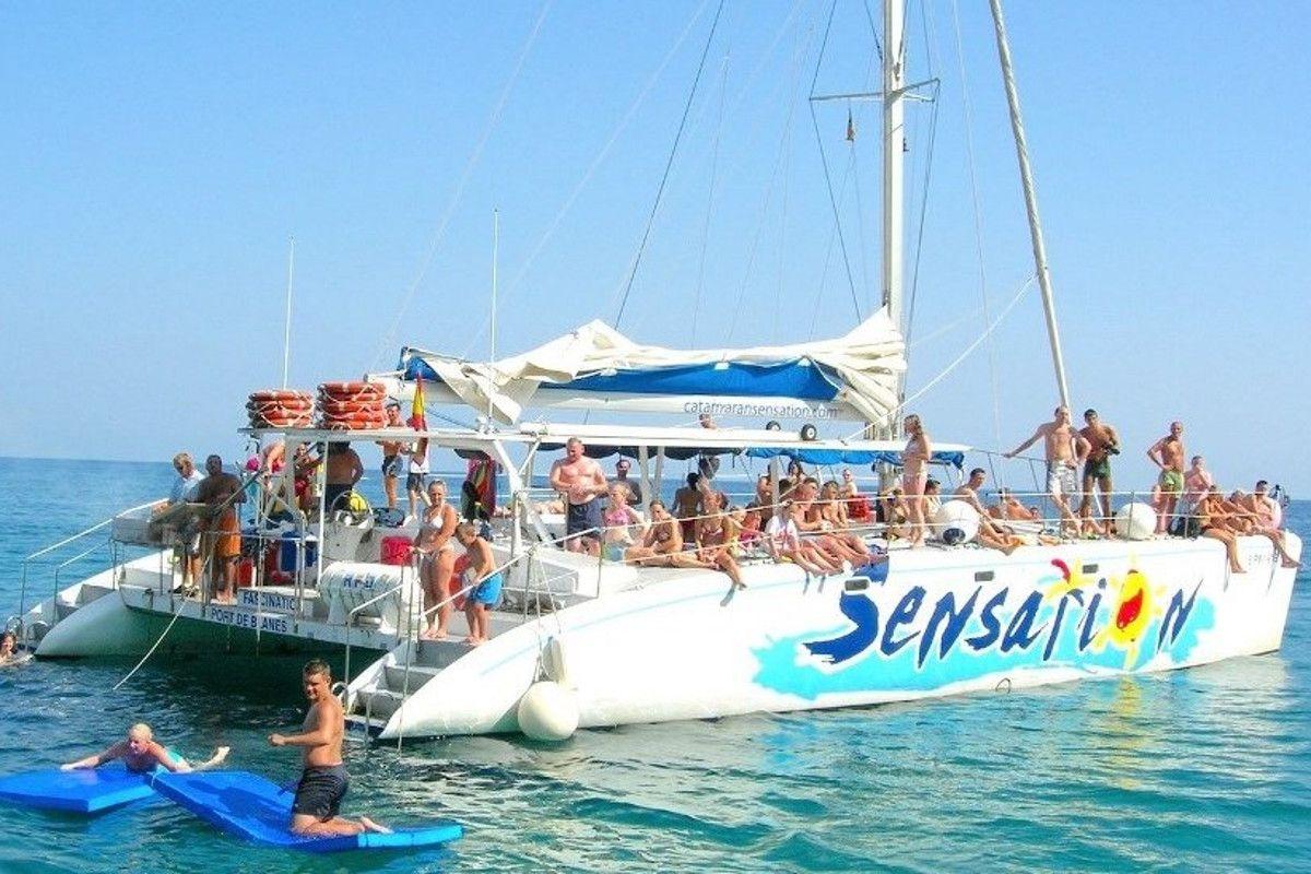 Fotografia Fiestas en barco