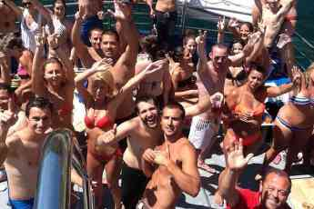 Foto de Fiestas en barco