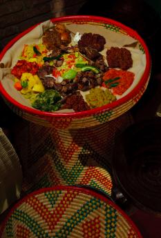 El restaurante Abissínia detalla las bases de la cultura gastronómica de Etiopía