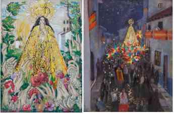 Obras de Gregorio Prieto Virgen de la Consolación