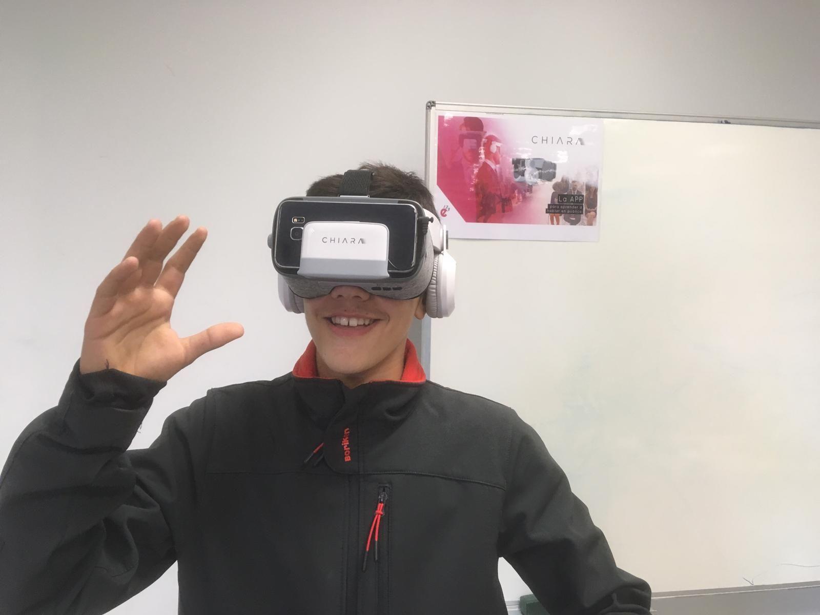 Chiara introduce la realidad virtual en el mundo educativo
