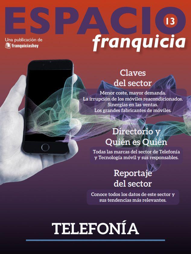 Foto de Revista Espacio Franquicia Telefonía