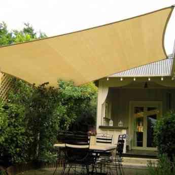 Foto de Toldo exterior para la decoración del jardín