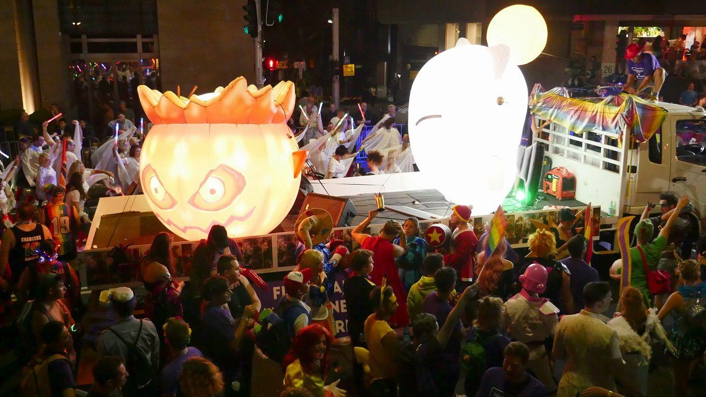 Foto de Final Fantasy XIV en el Carnaval de Sydney