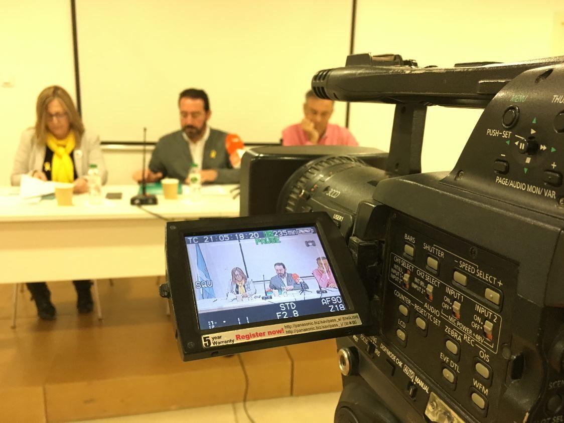 Foto de Rueda de Prensa de presentación de las Jornadas