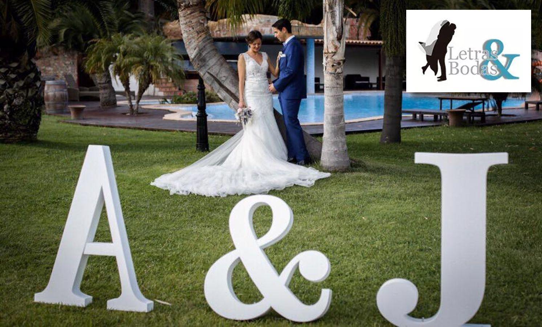 Fotografia - Letras decorativas recibe un Wedding Award 2019 en la