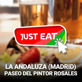 La Andaluza de Pintor Rosales (Madrid) aumenta sus clientes gracias a las plataformas digitales de comida
