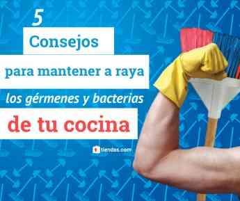 5 remedios para mantener a raya las bacterias y gérmenes de la cocina, que recomienda tiendas.com