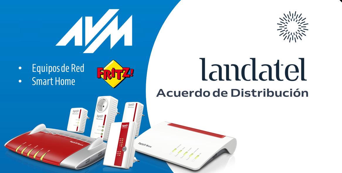 Fotografia Acuerdo de distribución AVM y Landatel