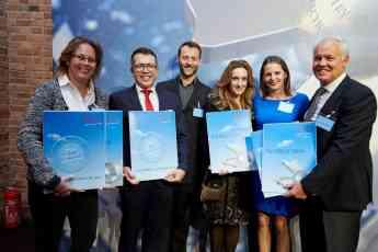 El Hotel Botánico recibe el prestigioso premio 'TUI Holly' 2019 durante la feria ITB