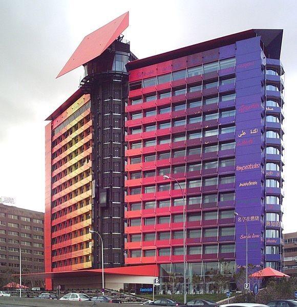 Fotografia Hotel Puerta América Madrid