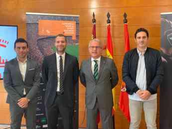Presentación oficial del Congreso en el Ayuntamiento de Murcia
