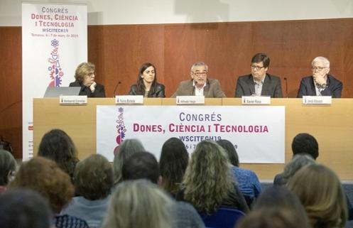 Foto de Montserrat Comellas, Núria Balada, Alfredo Vega, Xavier Roca