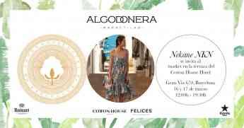 NKN Nekane impregnará de espíritu mediterráneo La Algodonera Market Lab