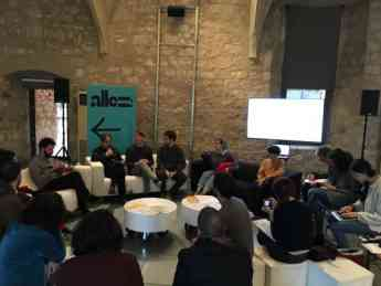 Presentación de Seminario Allez! en el Macba