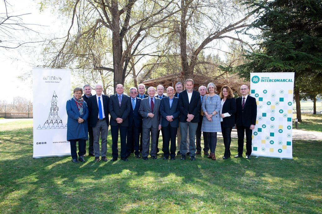 Foto de Mutua Intercomarcal en la Fundación AMPANS