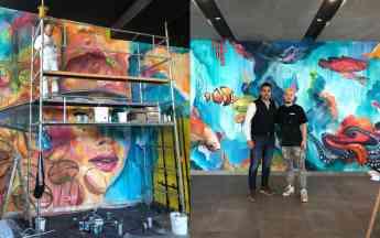 El expresionismo abstracto de MisterPiro atraca en Projects Worldwide sb4