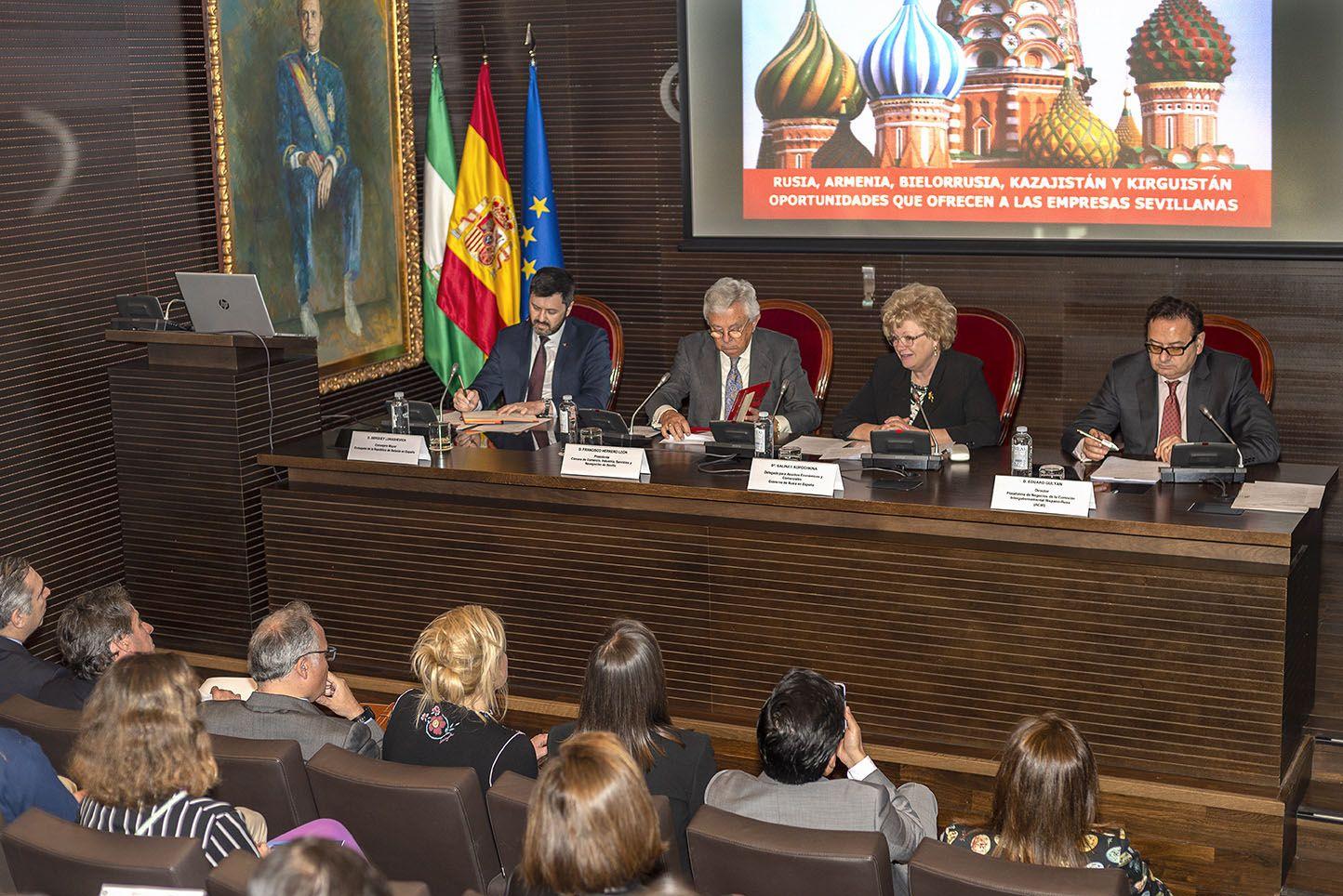 Fotografia Conferencia práctica de ACIR en Sevilla