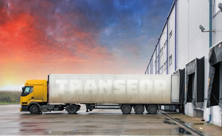 Fotografia Transeop, transporte de mercancías o palets