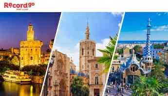 Record go Alquiler de coches junto a aeropuertos de Barcelona, Valencia y Sevilla