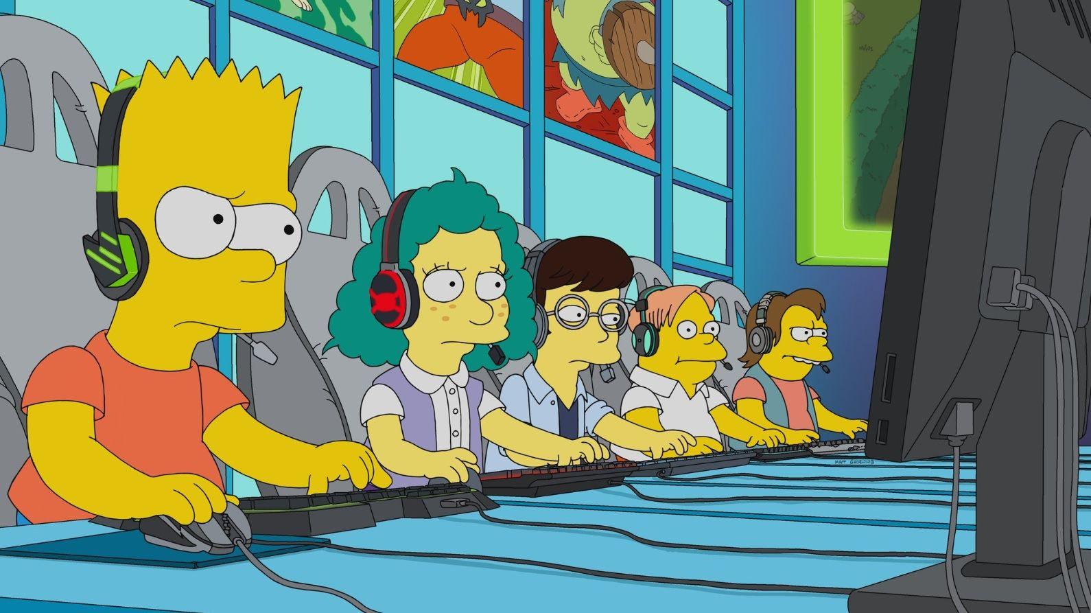 Foto de League of Legends en Los Simpsons