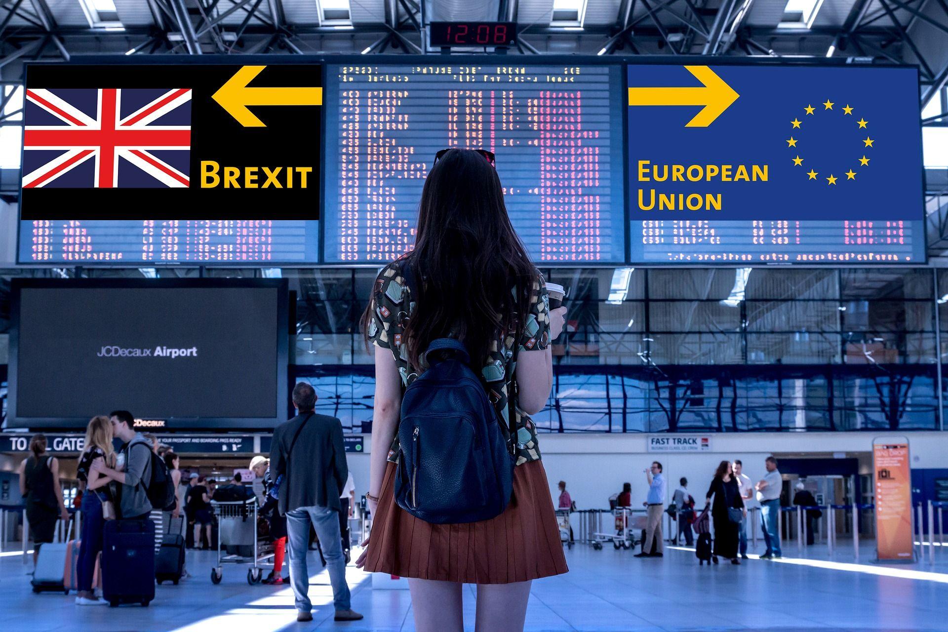 Foto de Brexit pasajeros