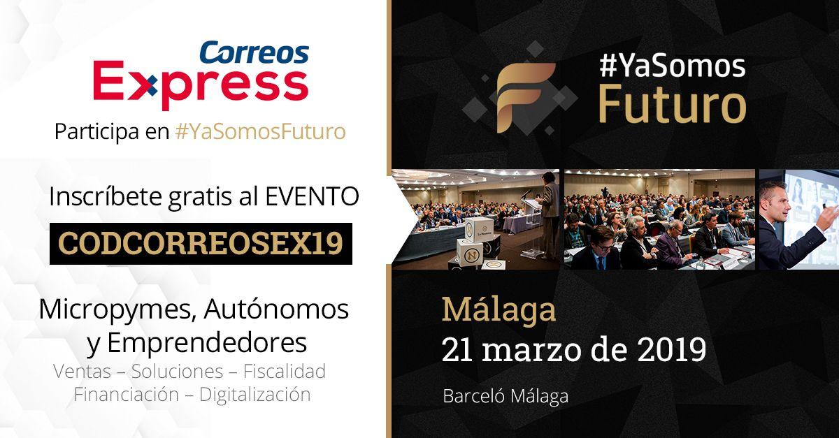 Foto de Correos Express participa en el evento #yasomosfuturo de