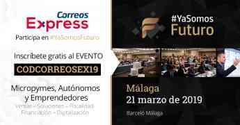Correos Express participa en el evento #yasomosfuturo de Málaga