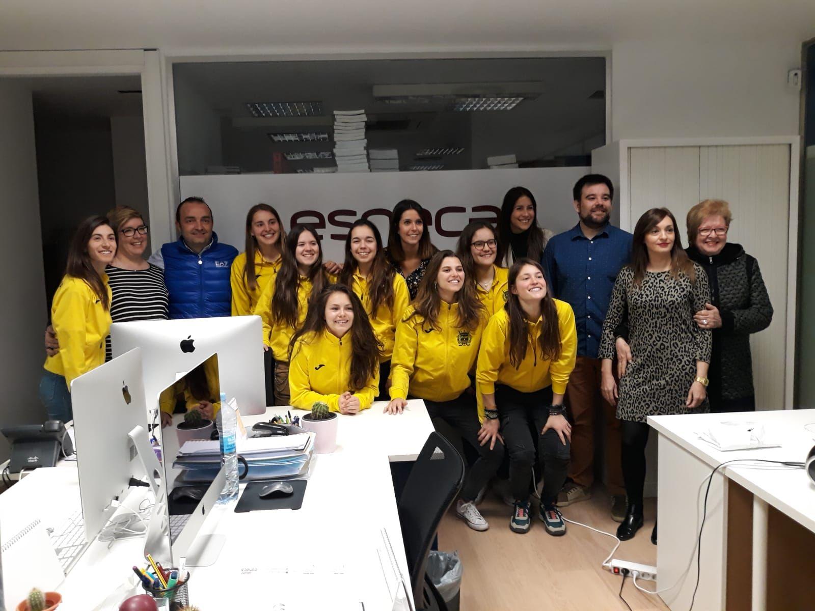 Foto de Esneca Business School formará al Club Patí Vila-Sana en
